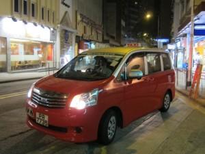Toyota Noah Hong Kong Taxi PR7735